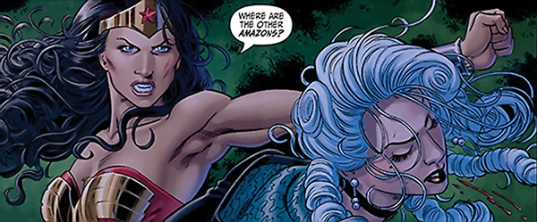 Somedays, I feel like this. From Gail Simone's Wonder Woman, DC Comics.